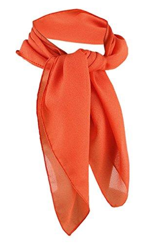 TigerTie - nicki paño gasa - naranja tamaño 50 cm
