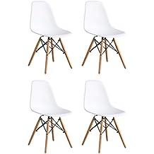OYE HOYE Set Von 2/4 Moderne Elegante Und Moderne Designer Esstisch/Lounge  Kunststoff
