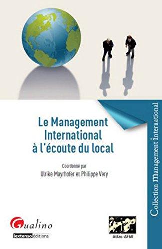 Le Management international à l' écoute du local par Ulrike Mayrhofer