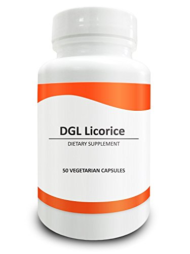 Pure Science DGL Licorice Root 500mg - Contains 10% Glycyrrhiza Glabra Root - Supports Digestive & Respiratory Function - 50 Deglycyrrhizinated Licorice Vegetarian Capsules Test