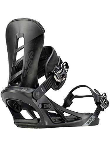 K2 Sonic Black Snowboardbindung, schwarz, XL