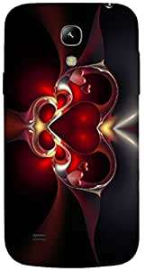Timpax protective Armor Hard Bumper Back Case Cover. Multicolor printed on 3 Dimensional case with latest & finest graphic design art. Compatible with Samsung I9190 Galaxy S4 mini Design No : TDZ-27807