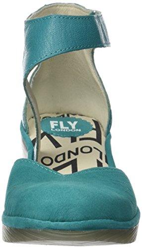 Cavigliera Volare Pats801fly verdigris Pompe Verde Londra Donna 00Bwt7qO