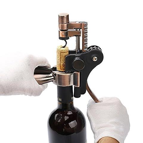 Bouteille de Vin Opener, durable et ergonomique à levier d