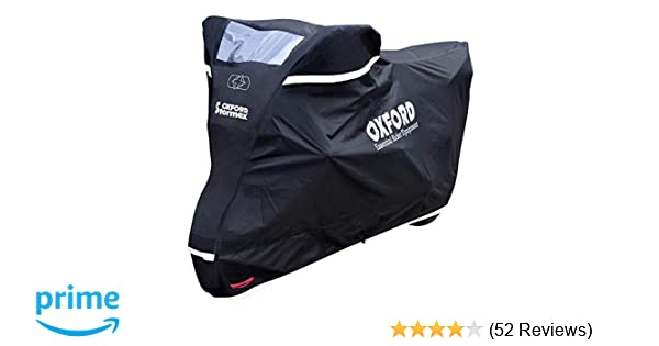 246 x 104 x 127 cm Oxford Stormex Outdoor Waterproof Motorcycle Cover Version 2016/ /Black