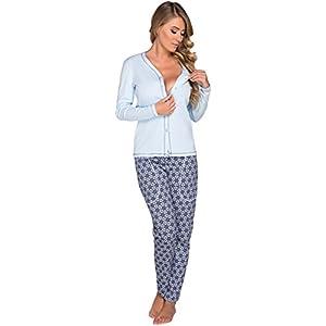 Italian-Fashion-IF-Mujer-Pijamas-Hydrangea-0223-Azul-XL