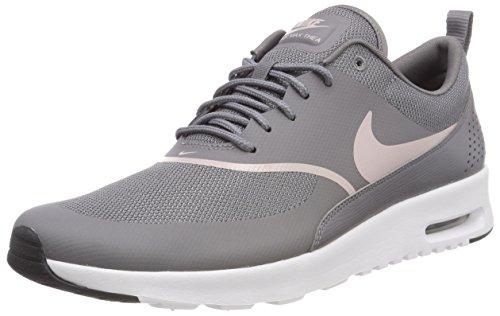 Nike Damen Sneaker Air Max Thea Laufschuhe Mehrfarbig (Gunsmoke/Particle Ro 029) 37.5 EU