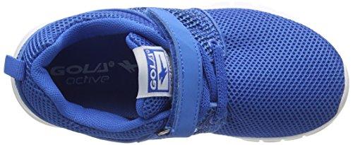 Gola Angelo, Scarpe Sportive Outdoor Bambino Blu (Blue/White)