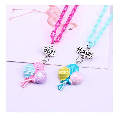 Neckl Kind Kette,Anhänger Halskette,Jahrestags-Geburtstags-Hochzeits-Geschenke Für Frauen,Freundin,Schwester,Mutter,Guter Freund Heißluftballon, B