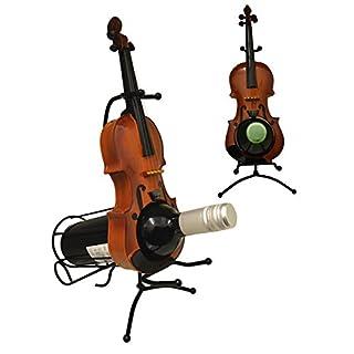 Maison Des Cadeaux Classic Violin Wine Holder (W514)