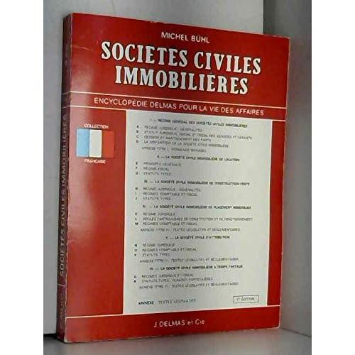 Sociétés civiles immobilières