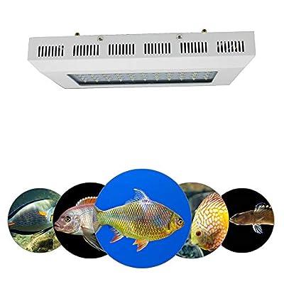 165W LED Aquarium Light, lampe pour plante d'aquariums d'eau douce super brillante, convient aux aquariums d'eau de mer pour plantes de poissons de corail, réservoir de poissons à spectre