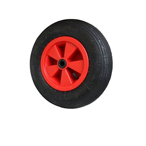 Schubkarrenrad Luftrad Reifen 4.80/4.00-8 Ø 400x100x25 Schubkarre Ersatz-Rad (Reifen Wagen-räder Und)