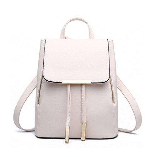 XibeiTrade , Damen Rucksackhandtasche beige