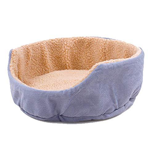 Liuyu · Casa de la Vida Redondo Pet Nest Four Seasons General Pequeña y Mediana Terciopelo Perro Cat...