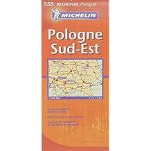 Carte RGIONAL Pologne Sud-Est