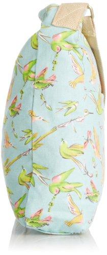 SwankySwans ragazze bella Bird Print Crossbody Borsa Portafoglio Gr Verde (verde)