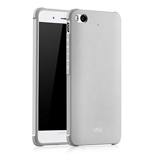 SMTR Xiaomi Mi5S Hülle mit Silikon TPU Material und Farblich Muster Schutzhülle Handytasche für Xiaomi Mi5S -Weiß