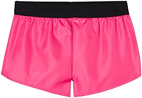 FIND Contrast Inner Lined Short de Sport Femme, Rose (Fuchsia), 36 (Taille Fabricant: X-Small)
