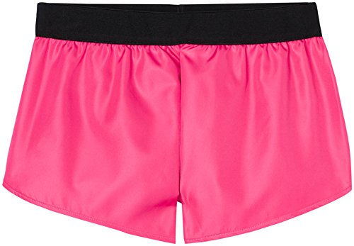 FIND Damen Sport-Shorts, Rosa (Fuchsia), Large
