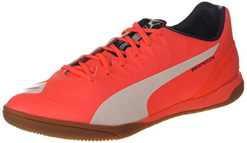 Puma evoSPEED 4.4 IT Herren Fußballschuhe Orange (lava blast-white-total eclipse 01)