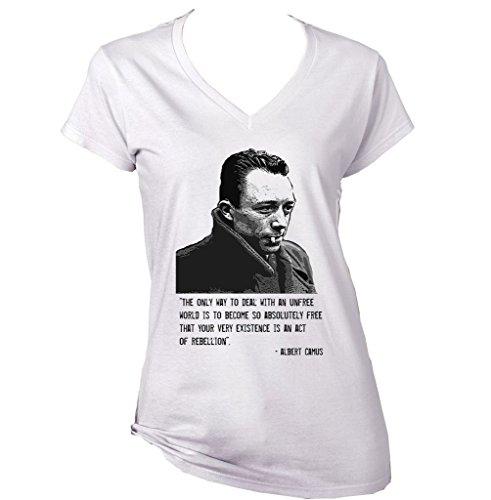 teesquare1st-camus-albert-camiseta-para-mujer-de-algodon-size-medium