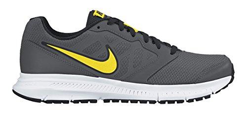 Nike Downshifter 6 Scarpe da ginnastica, Uomo Multicolore (Dark Grey/Opt Yellow-Blk-White)