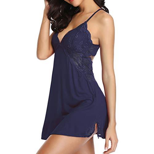JUSTSELL ▾ Pyjamas Damen Set,Sexy Negligee Nachtwäsche Nachthemd Spitze ( Spitzenoberteil Hosen) Dessous Reizwäsche Sleepwear Für Damen Geschenk Für Frauen