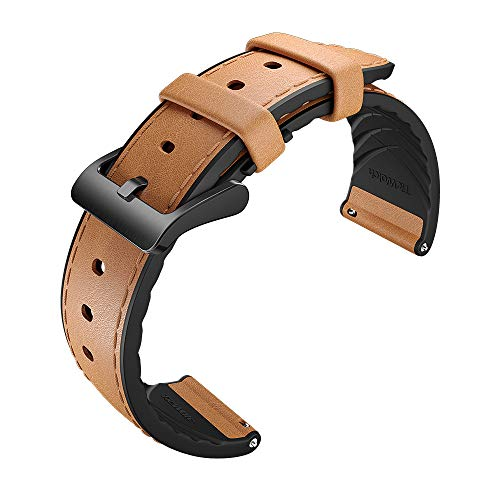 TicWatch Hybrid Leather Strap for Smartwatch Ticwatch Pro S2 E2