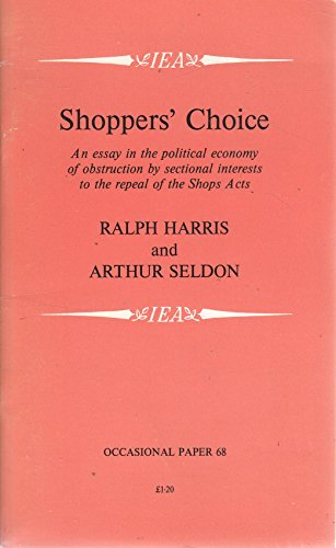 Shoppers' Choice (Occasional Paper)