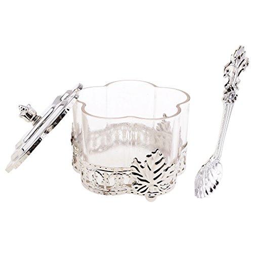 Sharplace Kaffeedose aus Kunststoff mit Löffel, Vorratsdose für Kaffeebohnen Oder Kaffeepulver,...