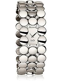 D & G DW0447–Uhr mit Armband Frau Quarz metallisch Silber