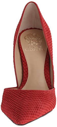 Vince Camuto Rowin Femmes Cuir Talons red