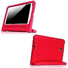 Funda Samsung Galaxy Tab 2 7,0 Fintie-Funda protectora infantil con función atril para Samsung Galaxy Tab 2 7,0, SM-T230, SM-T235 () Tablet 7 pulgadas rojo Galaxy Tab 4 7.0