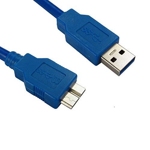 Cyond 0,3/1,5/3 / 5m Standard USB 3.0 A-Stecker auf USB 3.0 Micro-B-Stecker Hochreine, sauerstofffreie Kupferleitung, geeignet für Wireless-Netzwerkkarte, 3G-Netzwerkkarte, Mobile Festplatte (1.5m)