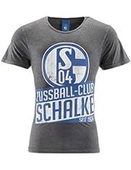 128 FC Schalke 04 Kinder T-Shirt Comic Gr