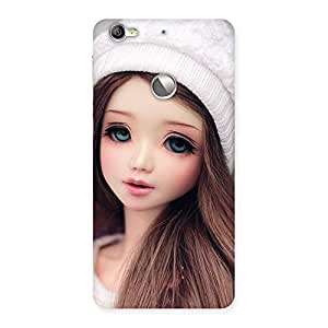 Enticing Innocent Angel Doll Multicolor Back Case Cover for LeTV Le 1s