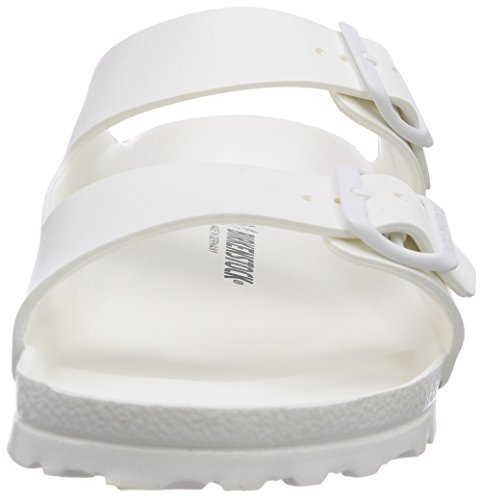 Birkenstock Arizona EVA, Sandali unisex - adulto blanco - Weiß (WHITE)