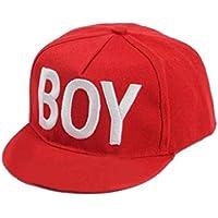 Bobury Sombreros de algodón para niños Gorras de béisbol para bebés de dibujos animados Cute Boy Girl