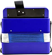 banapo Juguete de acordeón para niños, Juguete Musical de acordeón de percusión de Piano para niños, 7 Teclas