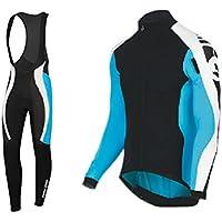 Uglyfrog Bike Wear Vestiti Ciclismo Magliette Jersey+Long Bib Pantaloni Tight Body Sets Uomo Winter Fleece Mountain Bike Manica Corta Camicia Top