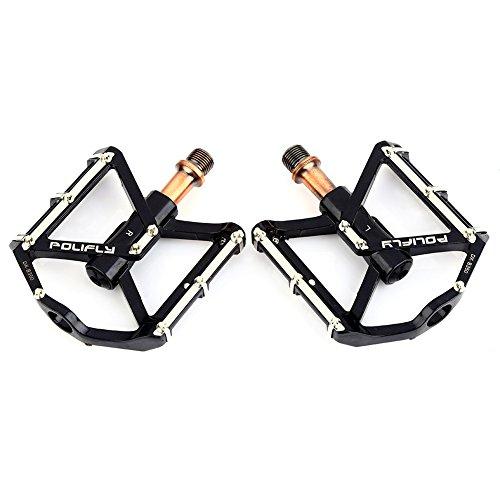 Bicicleta de la Bici MTB de Aluminio Pedales Plataforma CNC Acero Eje 9/16