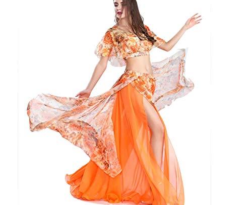 Für Indischen Kostüm Erwachsenen - SMACO Bauchtanz Rock, Frauen Bauchtanz Set Kostüm Kleidung Set Outfit Performance Anzug indische Bollywood Tänzer Tanz Kostüme Frauen Erwachsene,D