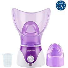 MEASTEAM • Limpiador facial Cara Piel Nariz Humidificador aromaterapia Inhalador Hombre y mujer 130 W Limpieza