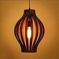 JJGG Il nero di seppia Ristorante lampadari in legno massiccio