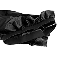 Sharplace Funda Nylon Spray Skirt Deck Faldón para Kayak - Negro