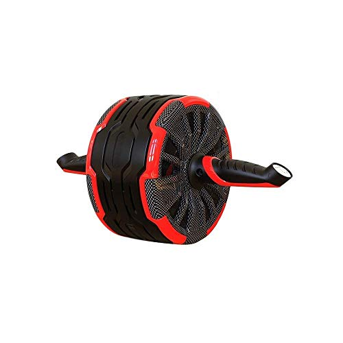 Haihah AB Wheel - Perfect Fitness Ab Roller für Core Workouts mit extra dickem Kniepolster Ab Roller Wheel (Gesundheit-fitness-zyklus)