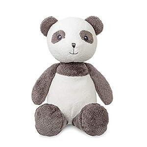 Aurora Bam Panda, 14 Pulgadas, Gris y Blanco, Juguete Suave Regalo para bebés nuevos