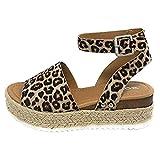 f1c4759a QUICKLYLY Sandalias Mujer Sandals Zapatos Flatform Sandalia Vestir  Plataforma Zuecos Shoes Sandalias Moda Verano para Mujer Correa con Hebilla  Cuñas ...