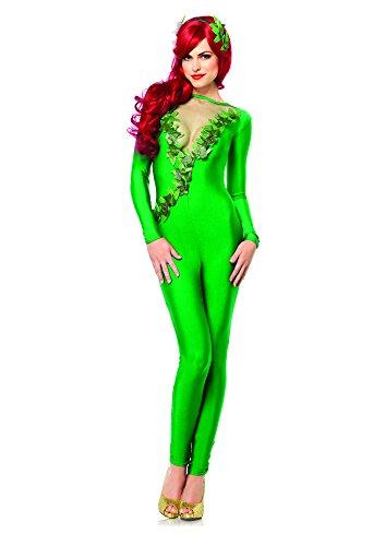 Leg Avenue 85331 - Ivy Vixen Kostüm Set, 2-teilig, Größe S, grün (Poison Ivy Blätter Für Kostüm)